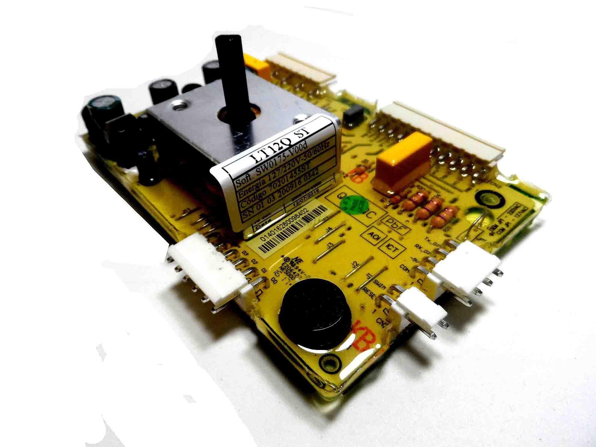 Placa Eletrônica Potência Lavadora Electrolux 70201455