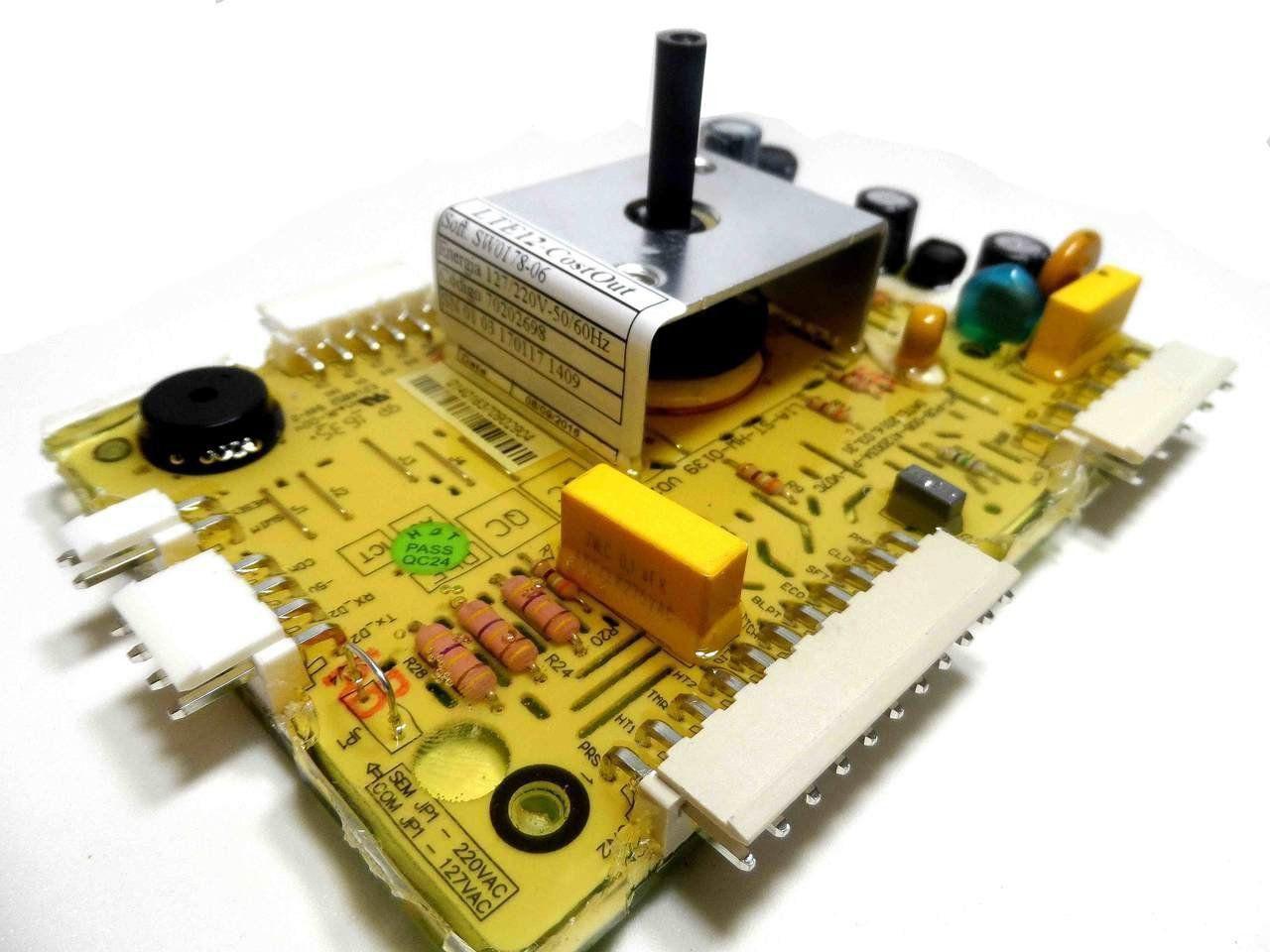Placa Eletrônica Potência Lavadora Electrolux 70202698