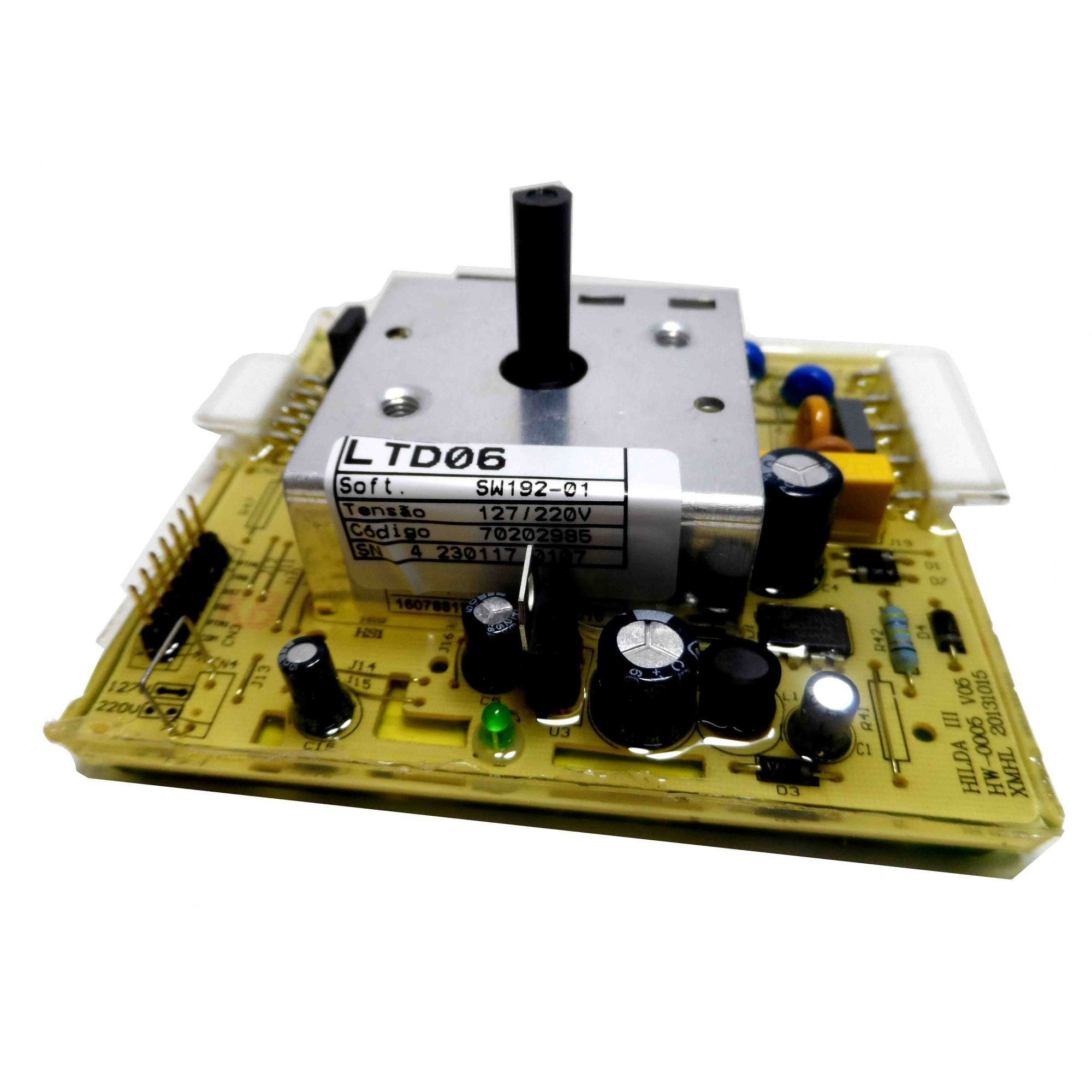 Placa Eletrônica Potência Lavadora Electrolux Top Load 70202985