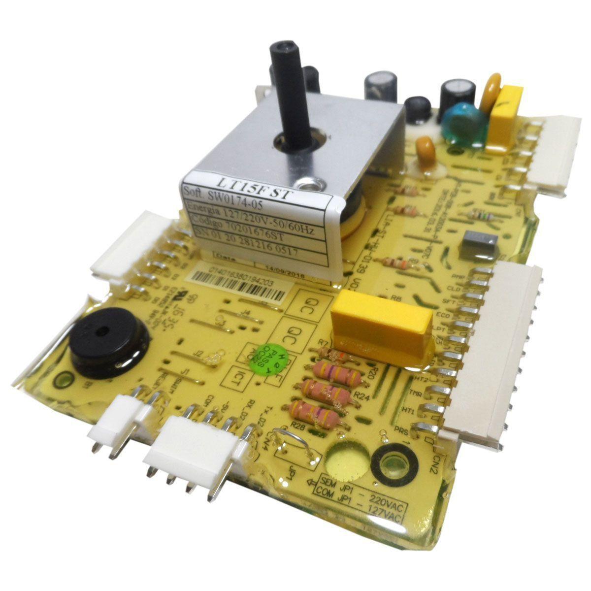 Placa Eletrônica Potência Lavadora Electrolux Bivolt 70201676