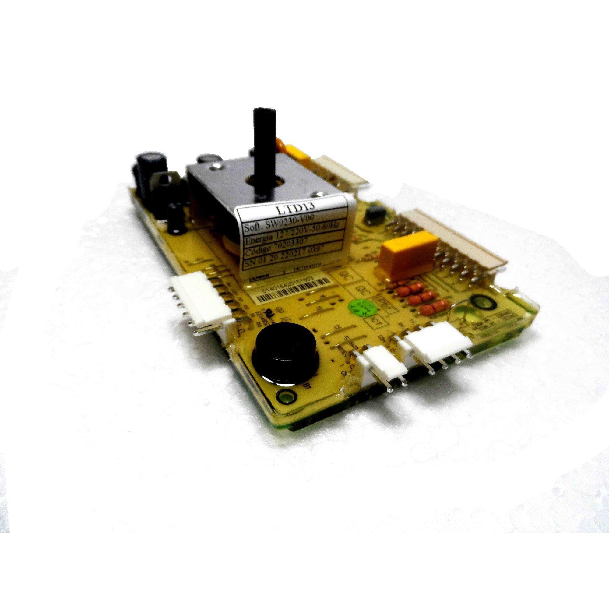 Placa Eletrônica Potência Lavadora Electrolux Bivolt 70203307