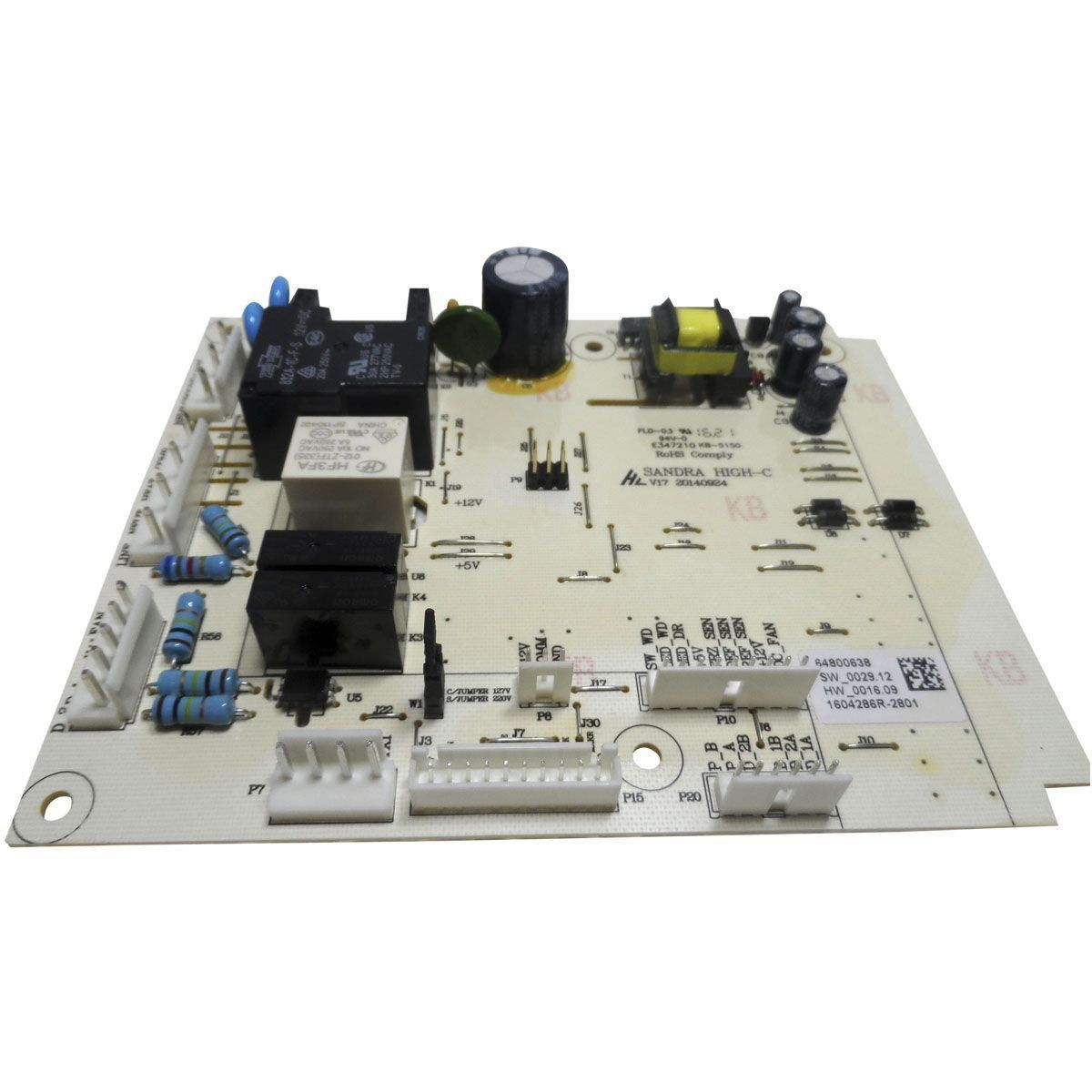 Placa Eletrônica Potência Refrigerador Electrolux Bivolt 64800638