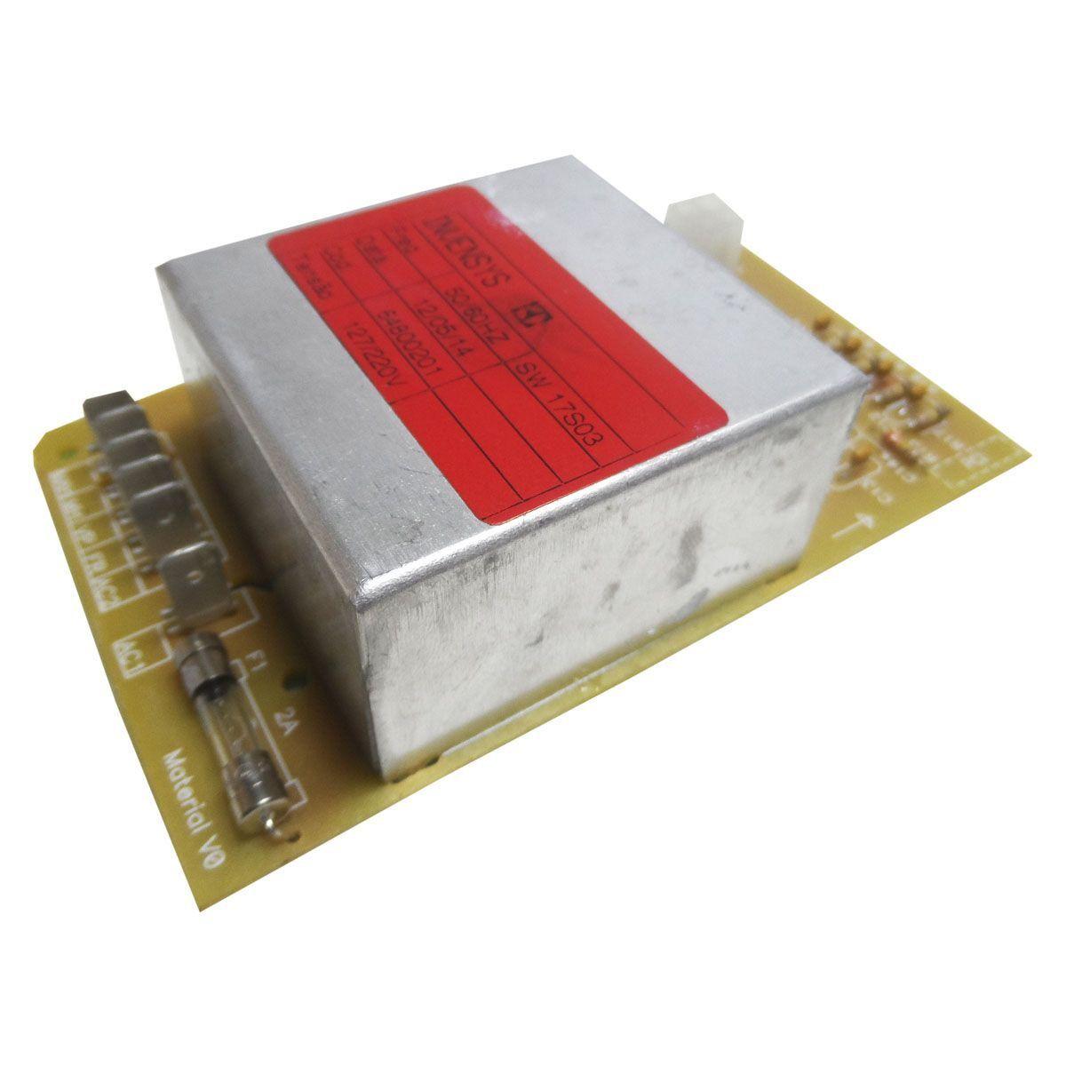 Placa Eletrônica Superior Lavadora Electrolux 64800201