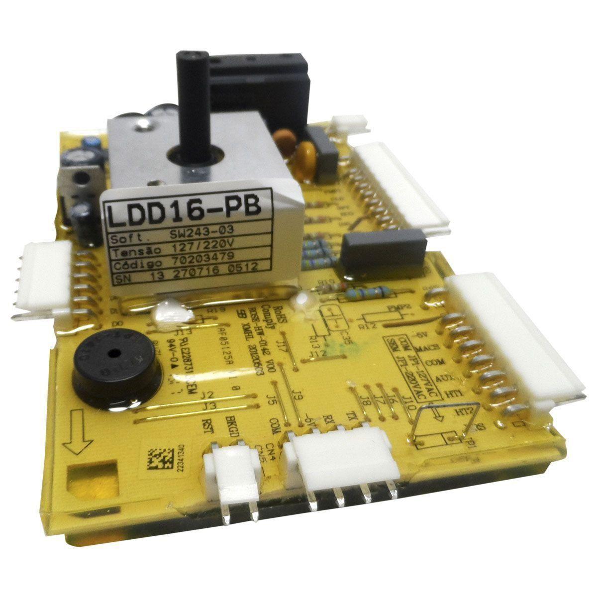 Placa Eletrônica Potência Lavadora Electrolux Bivolt 70203479