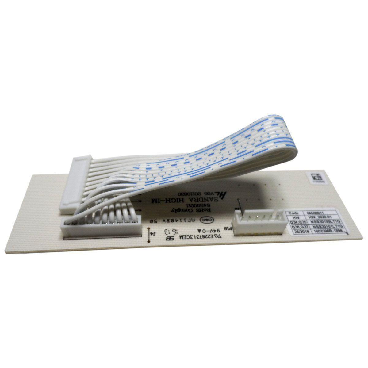 Placa Fabricador Gelo Refrigerador Electrolux 64500011