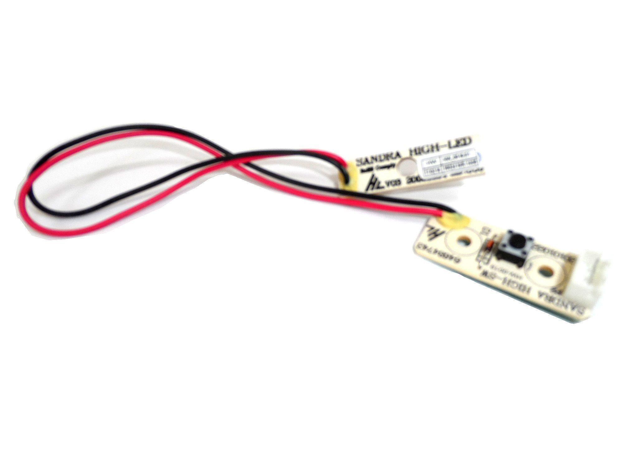 Placa Iluminação Display Refrigerador Electrolux 64684743