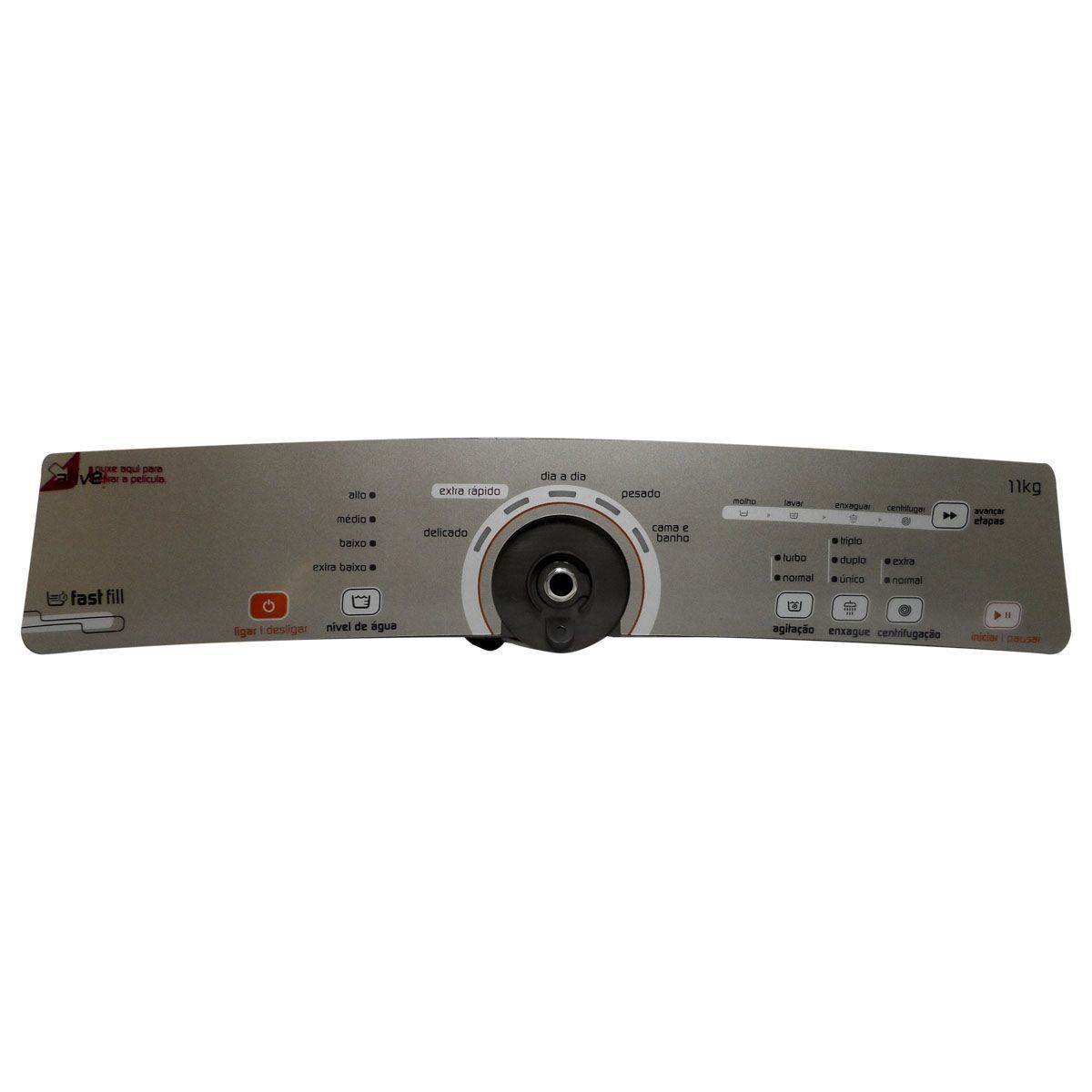 PLACA INTERFACE INOX BRASTEMP BIVOLT W10463584