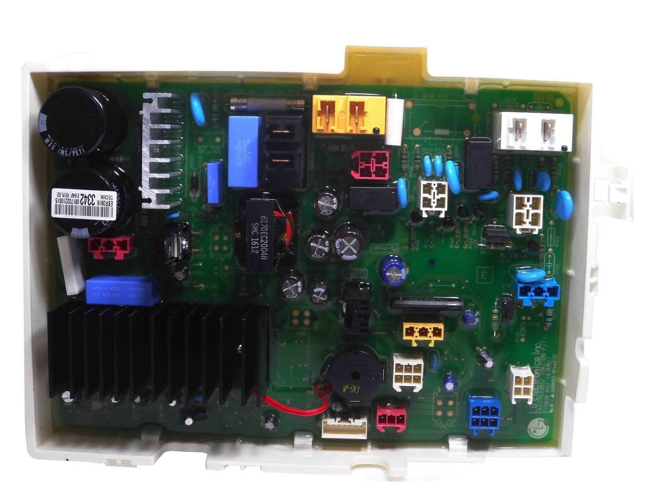 PLACA PRINCIPAL LAVA SECA LG 127V WD13436RD EBR38163342.