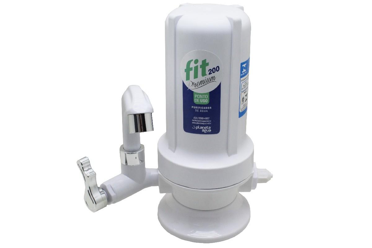 Purificador Planeta Água FIT 200 Premium Água Natural - Certificado INMETRO