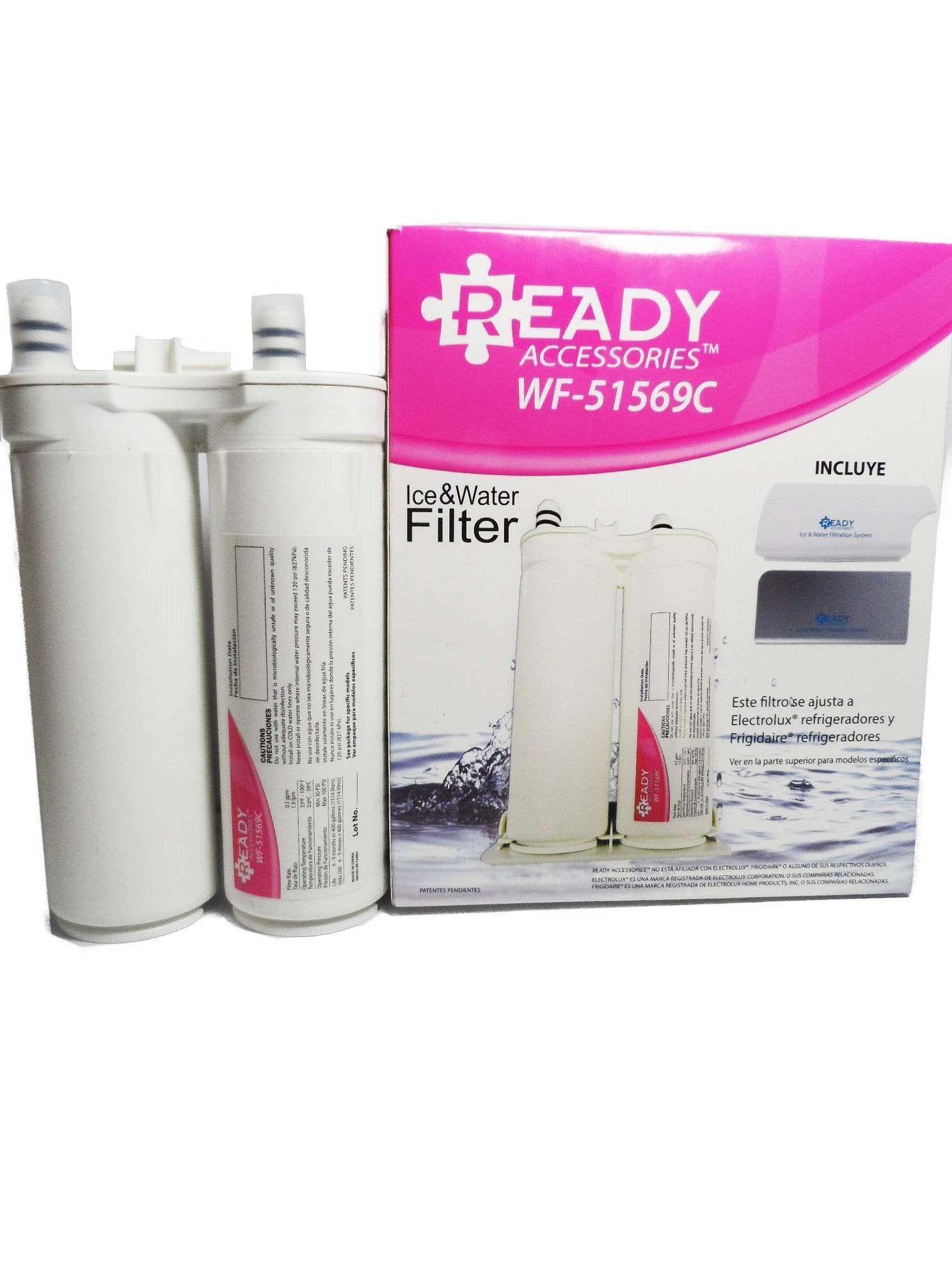 Refil Filtro Água Refrigerador Side By Side Eletrolux Genérico
