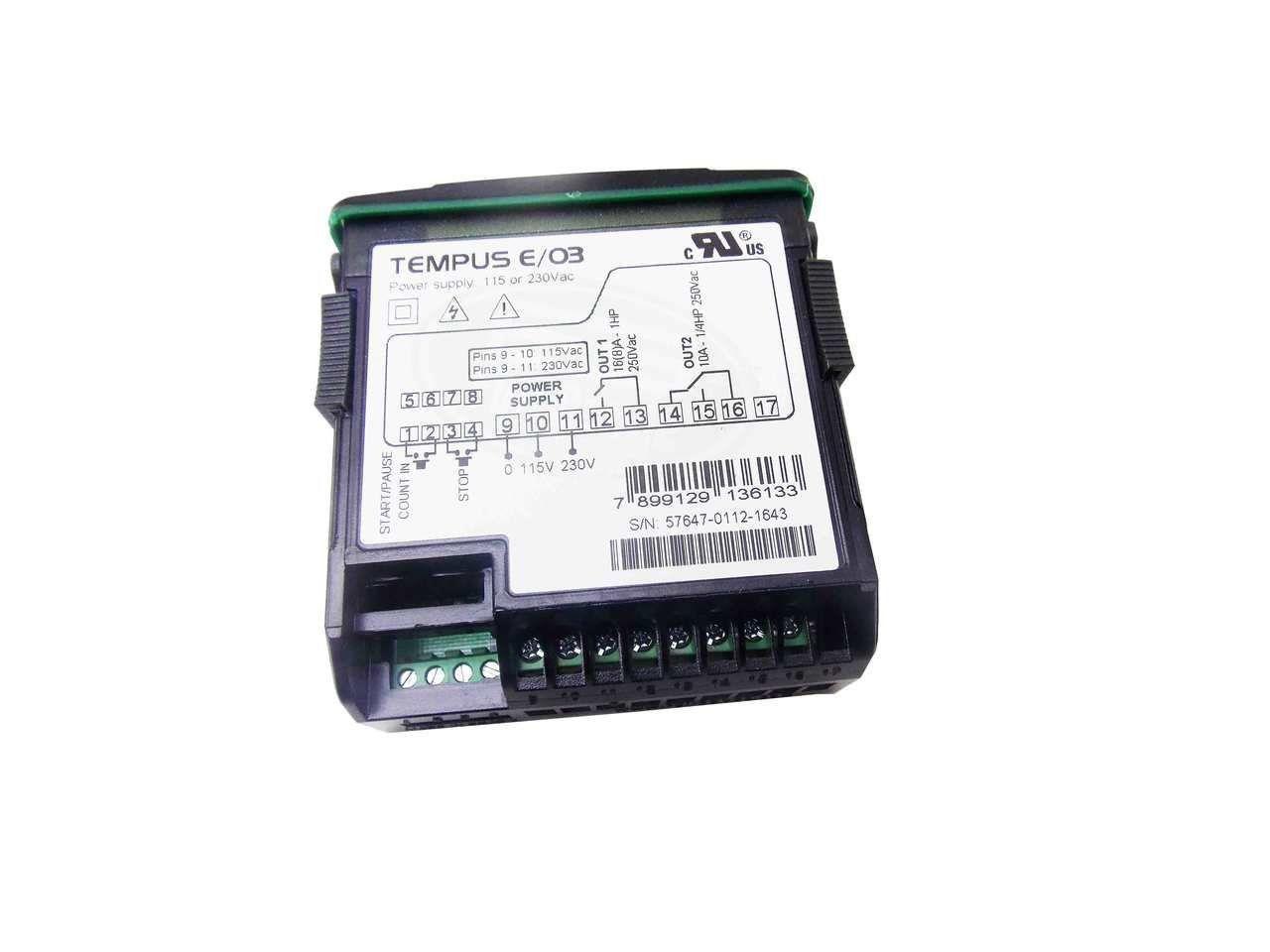 Temporizador Digital 115/230VAC Versão 03 Full Gauge