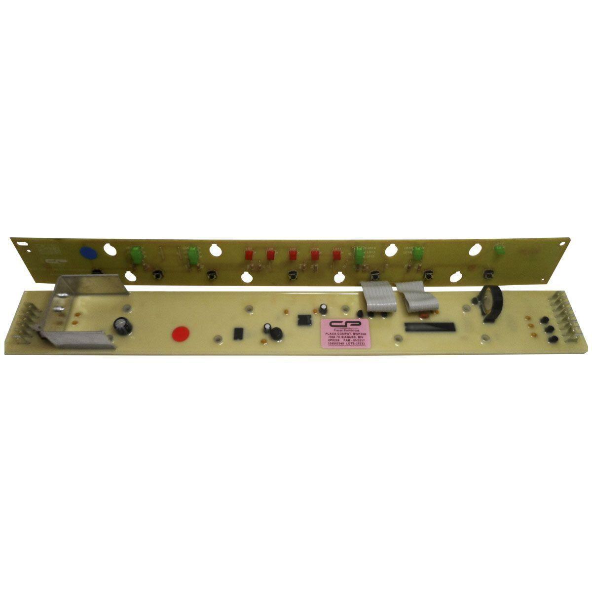 Placa Eletrônica Potência e Interface Lavadora Brastemp 7Kg