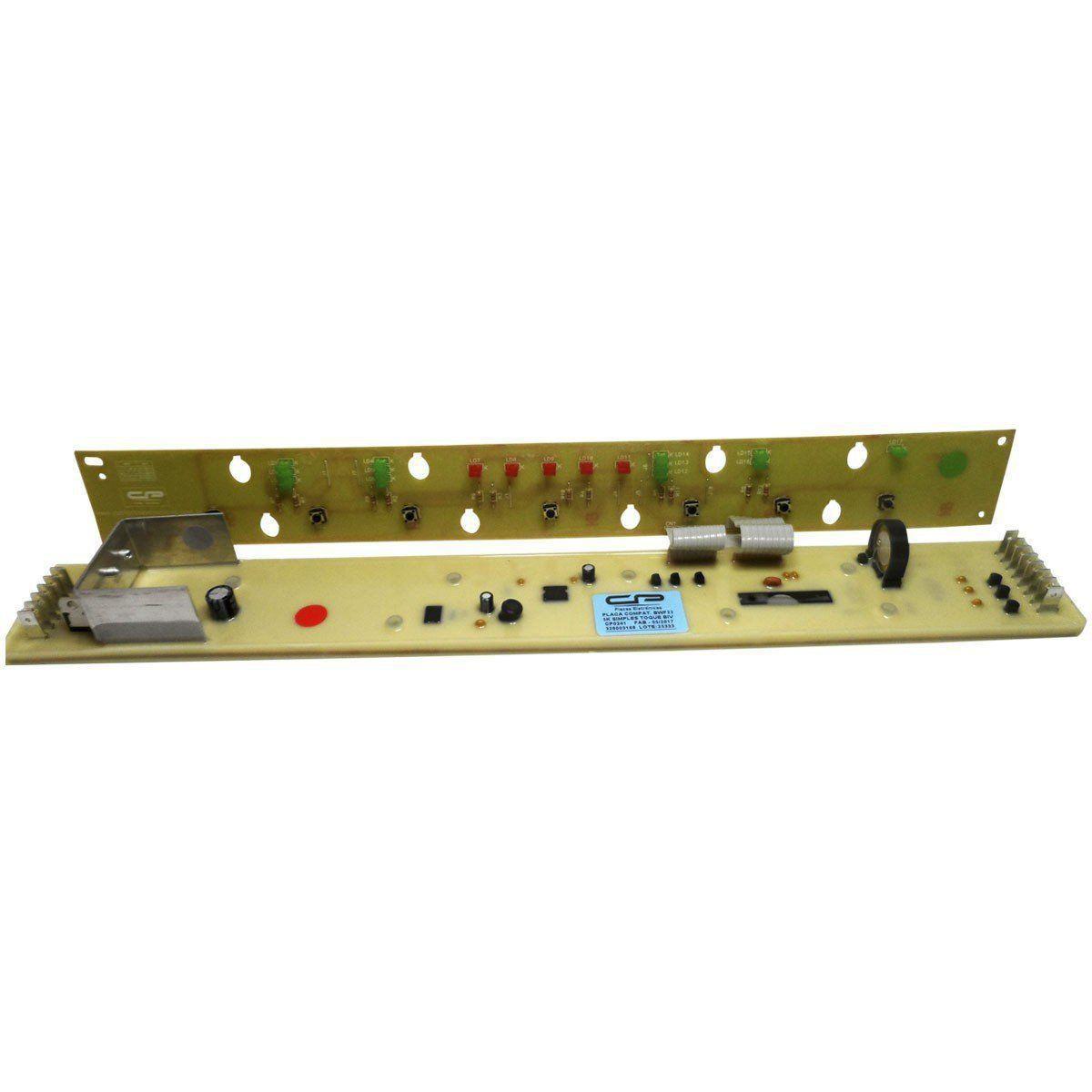 Placa Eletrônica Potência e Interface Lavadora Brastemp 5Kg