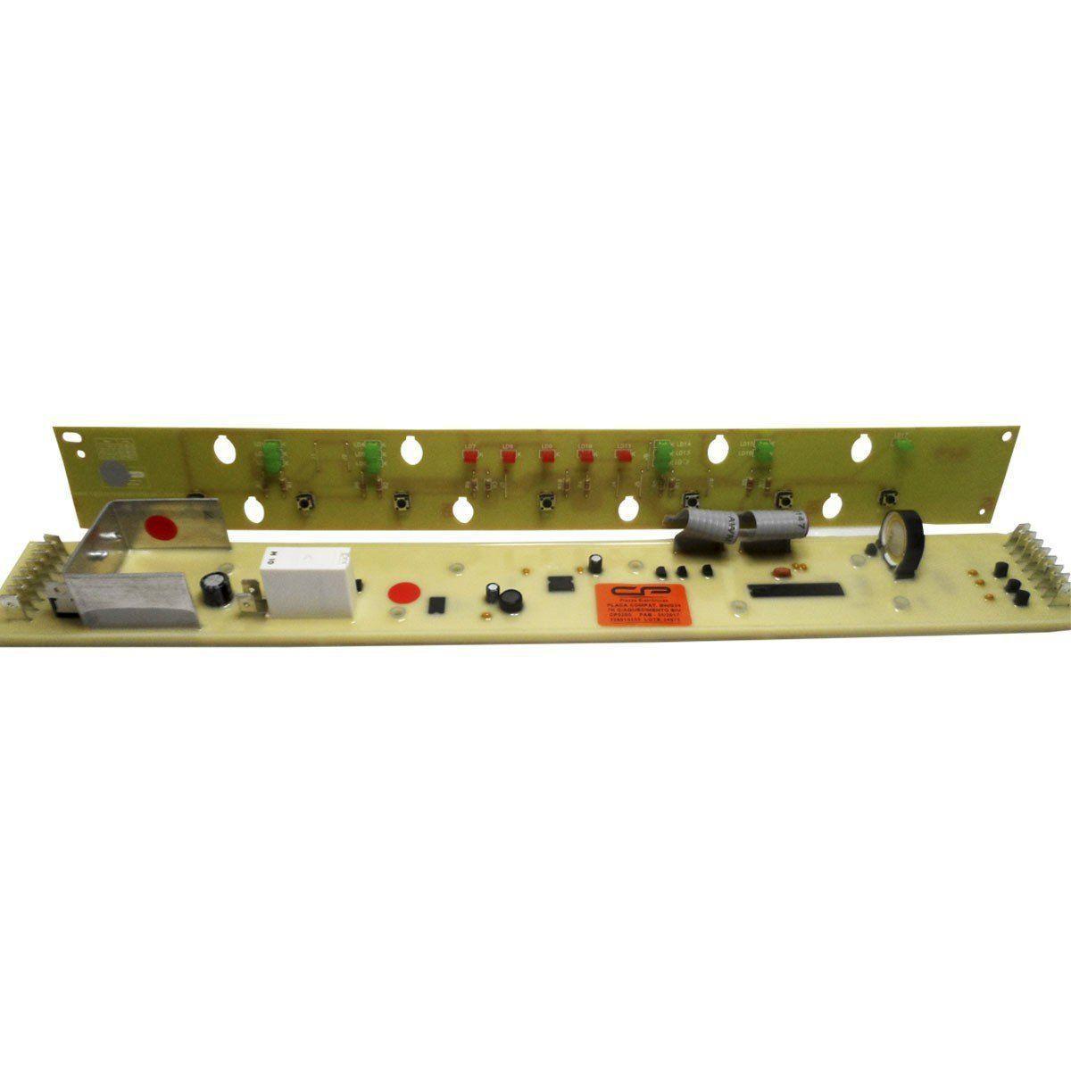 Placa Eletrônica Interface Lavadora Brastemp 7KG