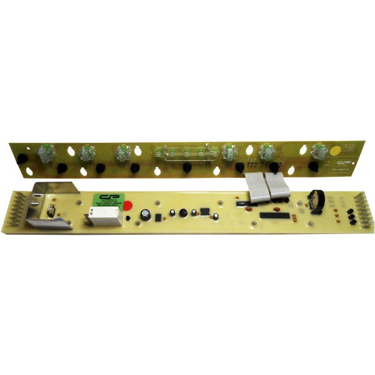 Placa Eletrônica Interface Lavadora Brastemp
