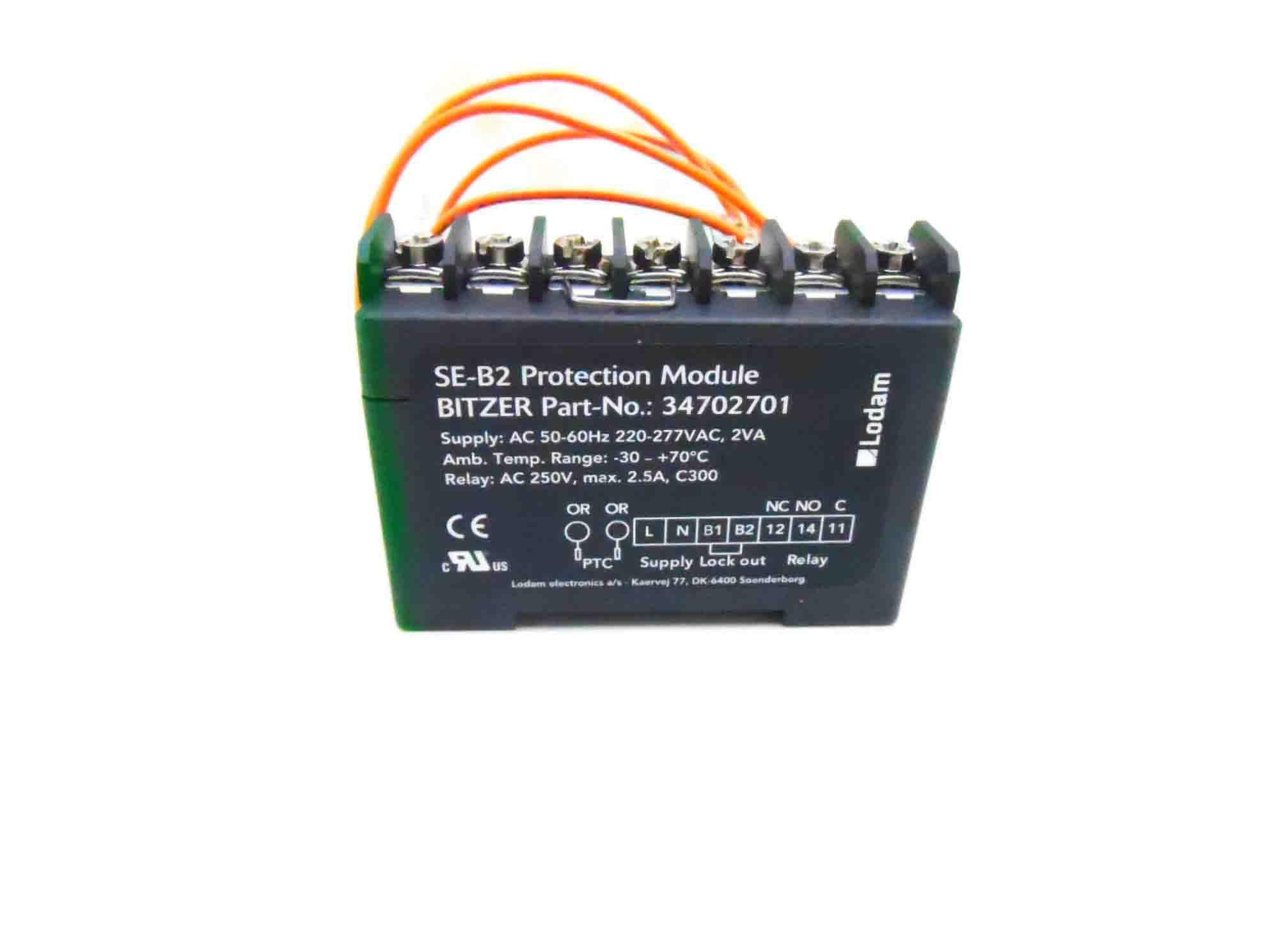 Unidade Controle Se-B2 220V Int69 CABPR010001 Bitzer