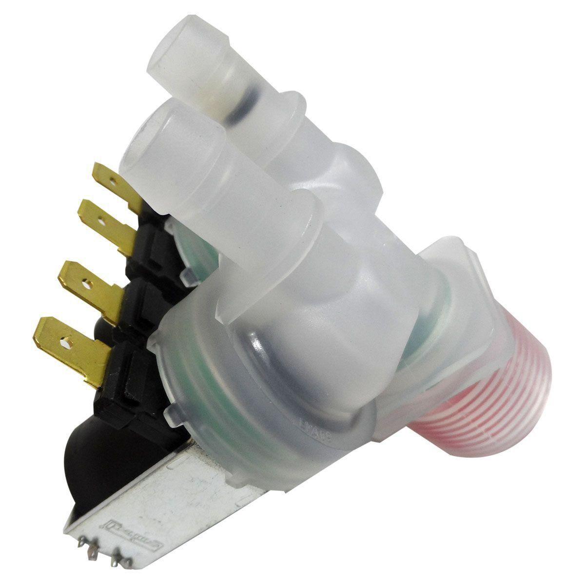 Válvula Água Dupla 220V Electrolux EMICOL