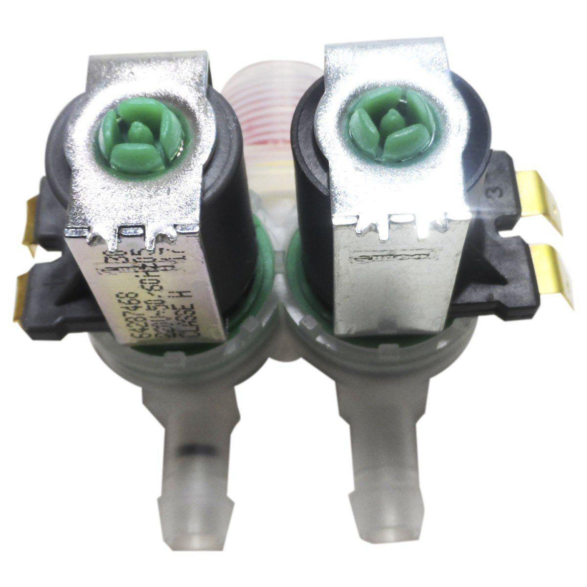 Válvula Água Dupla Lavadora Electrolux 220V 64287468