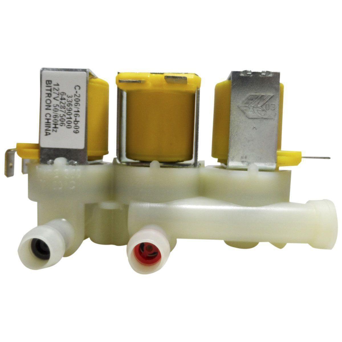 Válvula Água Tripla Electrolux 64287506