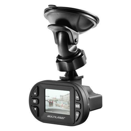 Camera Filmadora Veicular Multilaser Dvr Hd Sd Visão Noturna