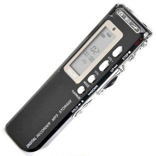 Gravador De Voz Bateria Recarregável Mp3 8gb Tomate Mt-557