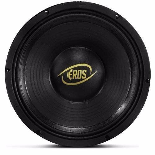 Woofer Eros 10 Polegadas 500w Rms 4 Ohms Bobina Simples E-51