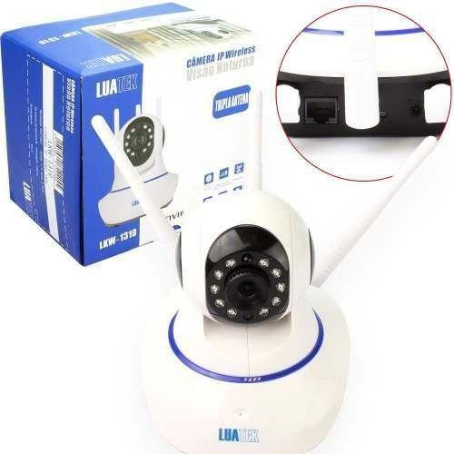 Câmera Ip Wireless Com Visão Noturna Luatek Lkw-1310