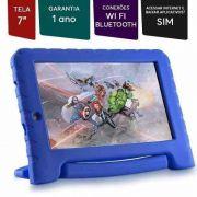 Tablet Disney Vingadores Multilaser Azul Menino Nb280