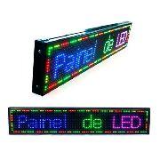 Painel Led 100x20 RGB Indoor