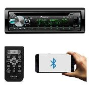 Toca Cd Player Pioneer Deh-x500br X500 Ubs Bt Mixtrax Radio