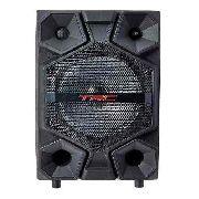 Caixa de Som Portatil TRC 334 Bluetooth 150W Amplificada Led
