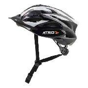 Capacete para Ciclismo MTB Inmold 2.0 Viseira Removível 19 Entradas de Ventilação Cinza Atrio Tam. M - BI181