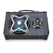 Caixa De Som Multilaser Sp314 Novo Modelo 120w Portátil