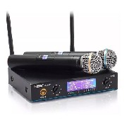Microfone Lx 02 Digital Pll 100 Ch Leson