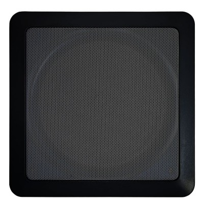 Arandela l Quadrada Fal 6 Pol 40W - AQ 6 C Natts Preta