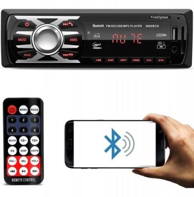 Auto Radio Mp3 Aux Fm Usb Sd Player Bluetooth  - First Option 6660