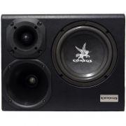 Caixa Amplificada Trio Sub 8 300 Rms Regulagem 2x1 Corzus CXMT 300