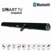 Caixa Som Sound Bar Tv C/ Bluetooth 80w Tomate C/ Controle MTS-2016