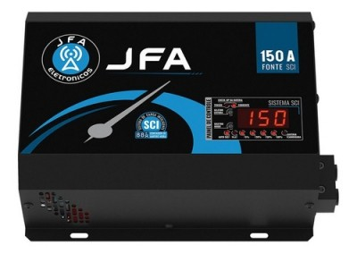 Fonte E Carregador Jfa 150a Automotiva Sci Bivolt