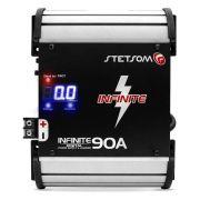 Fonte Setsom Digital Automotiva Infinite 90 A Bivolt Carrregador de Bateria 14.4 V Digital com Voltimetro