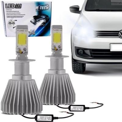 Kit Modelo Xenon Led Lampada H3 6000k Super Branca