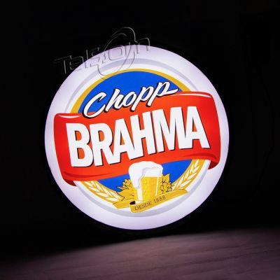 Luminoso / Luminária Parede Bar Com Led- Chopp Brahma