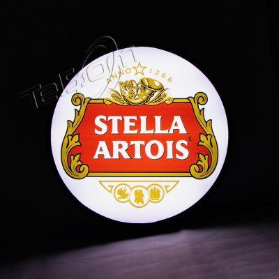 Luminoso Luminaria Parede Bar Led Stella Branca
