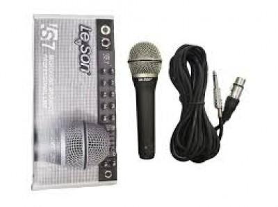 Microfone Profissional Dinâmico Leson Ls7
