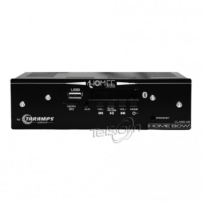 Receiver Som Ambiente Taramps Home 80w Rms 4ohm 4 Canal Bar