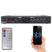 Receiver Taramps Ths 3600 Mic Usb Bluetooth Aux Som Ambiente