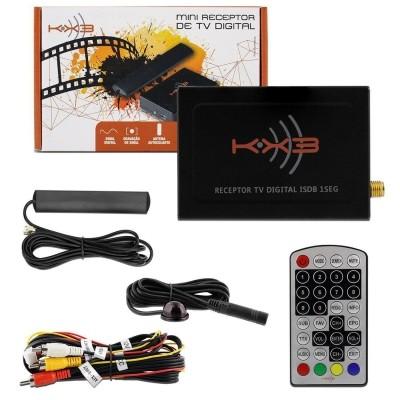 Receptor Tv Digital Kx3 Automotivo