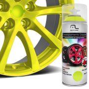Spray De Envelopamento Líquido Amarelo Fluorescente