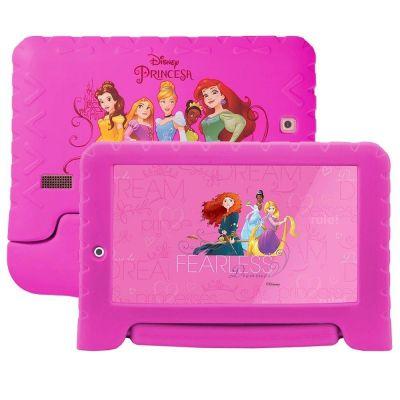 Tablet Infantil 7 Educativo Emborrachado Multilaser Nb281 Princesas