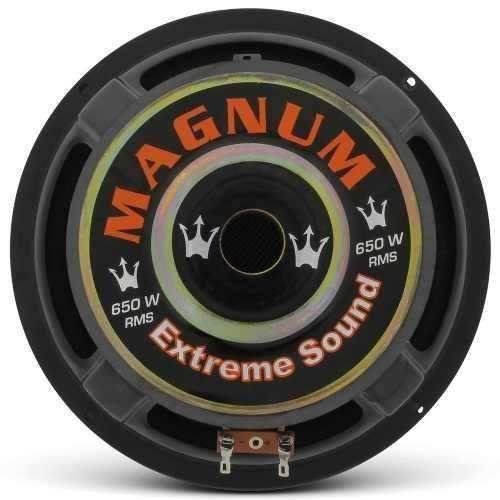 Falante Subwoofer Magnum Rex 8 Polegadas 650w Rms B4